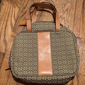 Coach makeup bag/purse!